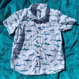 Old navy shark button up